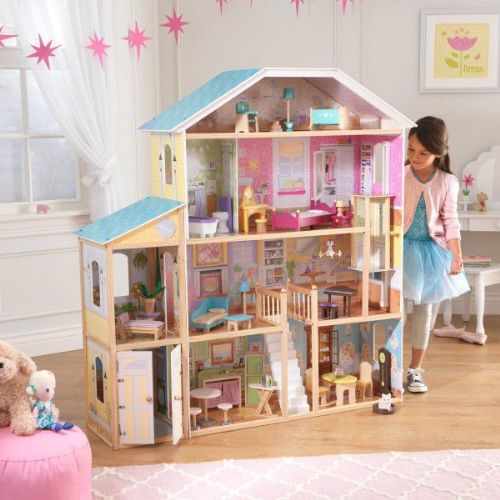 Majestic Mansion Dolls house & Furniture